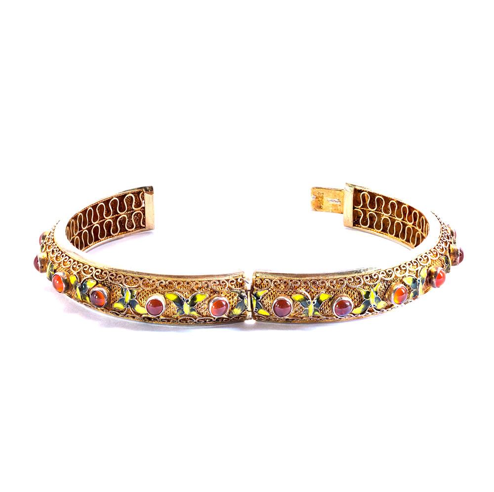 bracelet_papillons_cornalines_emaux_145_2
